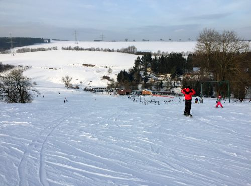 Frankenlift Thüringen Skifahren